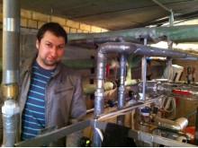 """Kalbėjomės su UAB """"Palangos šilumos tinklai"""" inžinieriumi-šilumininku Mantu Eičinu."""