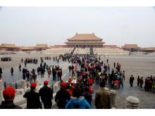 """Kinijos imperatorių rezidencija – """"Uždraustasis miestas""""."""