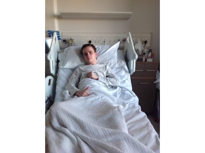 Po dvejų su puse mėnesio vienoje Londono ligoninių...