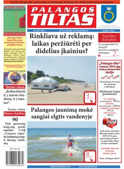 Palangos tilto laikraštis, Data: 2013-06-13, Numeris: 45 (1186)