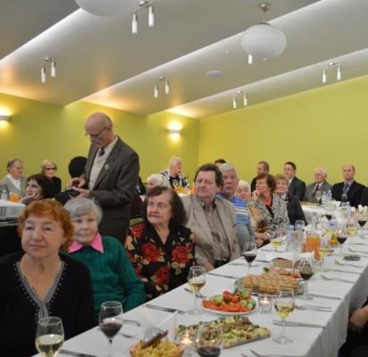 Lietuvos politinių kalinių ir tremtinių sąjungos Palangos filialo nariai šeštadienį šventė savo įkūrimo 25 metų jubiliejų.