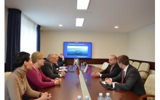 Savivaldybėje lankėsi Slovakijos Respublikos ambasadorius Ladislav Babčan