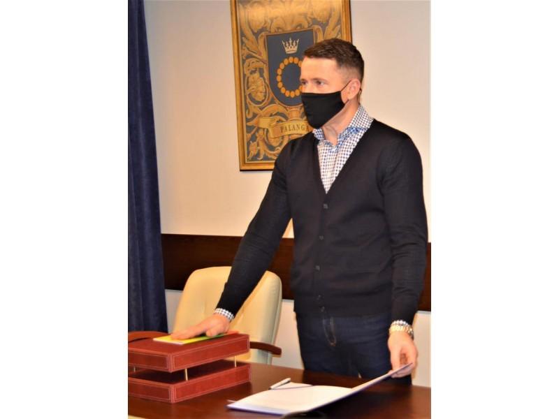 Paulius Rojus tapo Palangos miesto Tarybos nariu