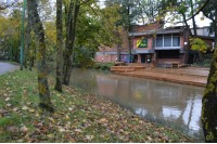 Merkusio lietaus padariniai: vanduo apsėmė keletą sklypų, pakilo Rąžė