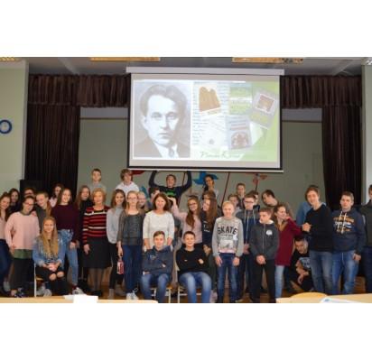 """Edukacinis renginys """"Baltijos"""" mokykloje"""