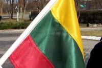 Kovo 11-ąją vėliavos plazdėjo ne ant visų Palangos namų