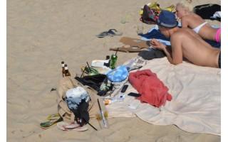 Viešosios tvarkos taisyklių – daug, pažeidėjų paplūdimyje – ne mažiau