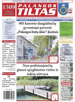 Palangos tilto laikraštis, Data: 2014-07-10, Numeris: 51(1289)