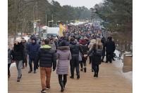 Stintų šventė į Palangą atviliojo rekordinę minią
