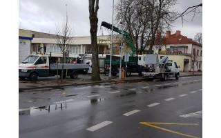 Bus pastatytos naujos autobusų stotelės miesto centre ir prie baseino