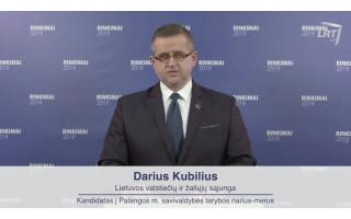 """Palangos """"valstiečio"""" Dariaus Kubiliaus """"išgamos"""" atsirūgo: siūloma Tarybai svarstyti klausimą dėl jo atšaukimo iš Etikos komisijos pirmininko pareigų"""