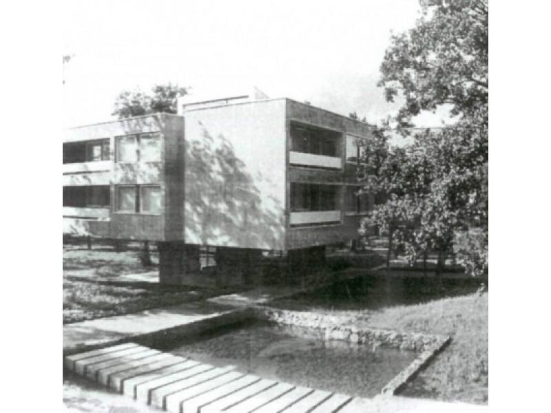 """Poilsio namai """"Žilvinas"""". 1969 m. nuotraukos iš A. Lėckienės archyvo."""
