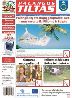 Palangos tilto laikraštis, Data: 2011-08-08, Numeris: 61 (1005)