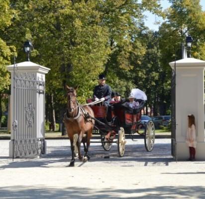 Naujieji parko vartai pirmąsyk atsivėrė rugsėjį švenčiant Birutės parko dieną.