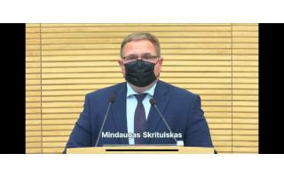 Mindaugas Skritulskas su kitais Seimo nariais registravo Kurortų ir kurortinių teritorijų darnaus vystymo įstatymo projektą