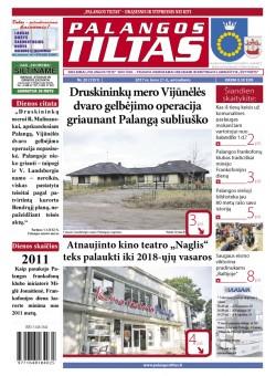 Palangos tilto laikraštis, Data: 2017-03-20, Numeris: 20(1551)