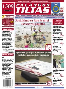 Palangos tilto laikraštis, Data: 2017-07-13, Numeris: 49 (1580)