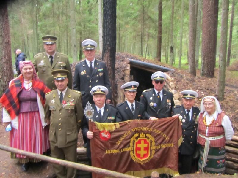 Palangos šauliai ir tremtiniai pagerbė žuvusius partizanus