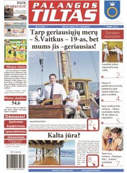 Palangos tilto laikraštis, Data: 2012-01-30, Numeris: 9 (1052)