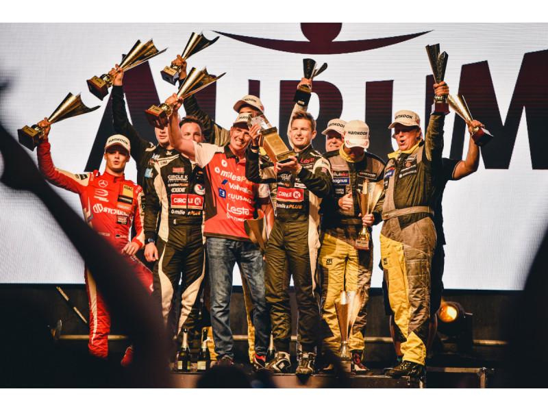 """Trečioji """"Circle K milesPlus Racing Team"""" pergalė paeiliui (FOTO GALERIJA)"""