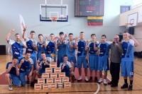 """""""Manijos MKL"""" III diviziono nugalėtojų taurė - Palangos krepšininkų rankose"""