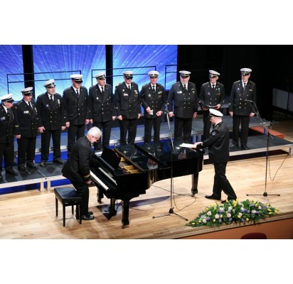 """Palangos """"Jūros šauliai"""" dalyvavo Tauragės vyrų chorų festivalyje"""