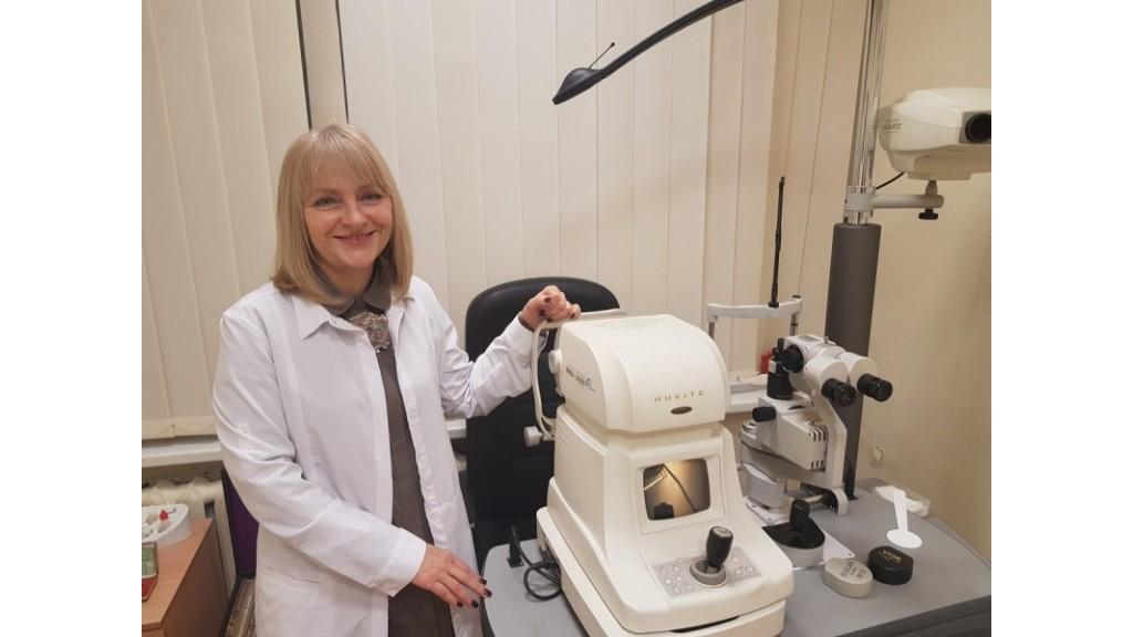 Kurorto akių gydytoja  Snaigūnė Jasinskienė