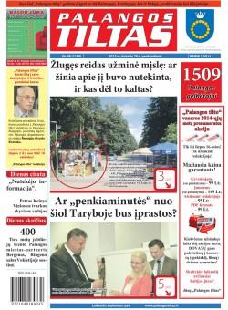 Palangos tilto laikraštis, Data: 2013-06-27, Numeris: 48 (1189)
