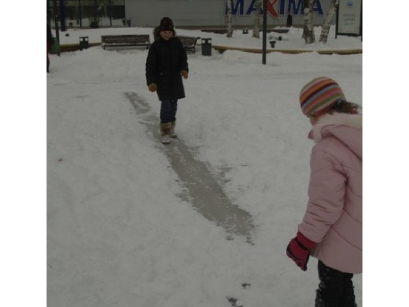 2010-ųjų žiemą bandymas išlieti čiuožyklą centrinėje aikštėje nenusisekė.