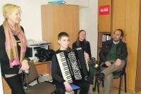 Jaunieji akordeonistai rengiasi tarptautiniams konkursams