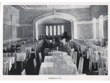 """Kurhauzo salė. Iš """"Lietuva senose fotografijose""""."""
