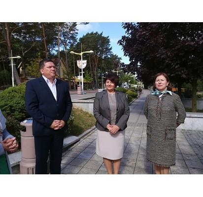 Susitikime dalyvavo Klaipėdos AVMI viršininkas Audrius Morkūnas, Mokestinių prievolių departamento direktorė Laimutė Mačernienė bei Kontrolės departamento direktoriaus pavaduotoja Vida Okuličienė.