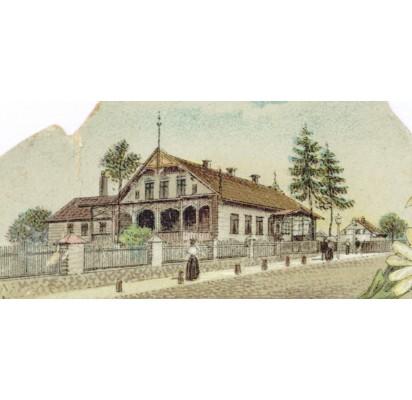 Pirmieji grafų Tiškevičių rūmai Palangoje – kurorto istorijos lopšys