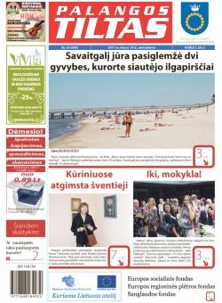 Palangos tilto laikraštis, Data: 2011-07-18, Numeris: 55 (999)