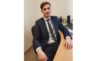 """Naujasis Savivaldybės teisininkas Kristijonas: """" Leiskite man drąsiai svajoti: po 10 metų norėčiau save matyti Savivaldybės administracijos direktoriumi"""""""