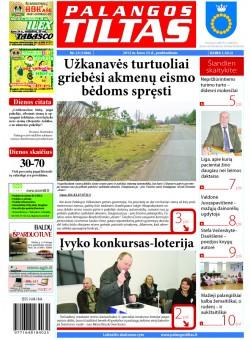 Palangos tilto laikraštis, Data: 2012-03-22, Numeris: 23 (1066)
