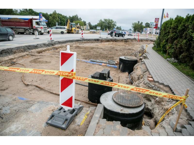 Pradedami Palangos miesto Vanagupės, Bangų ir dalies Vytauto gatvės asfalto dangos remonto darbai