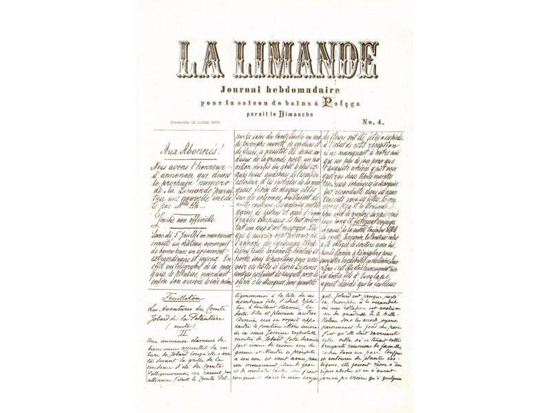 """Minimas pirmojo Palangos laikraščio """"La Limande"""" jubiliejus"""