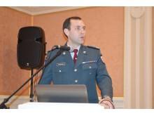Palangos policijos komisariato Reagavimo skyriaus viršininkas Gintautas Pocevičius pristatė praėjusių metų policijos ataskaitą.