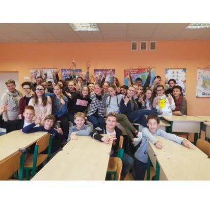 V. Jurgučio mokykloje – moksleivių diskusijos anglų kalbos renginyje