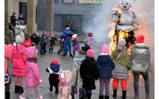 Užgavėnės Šventojoje – Morę sudeginti buvo netgi gaila