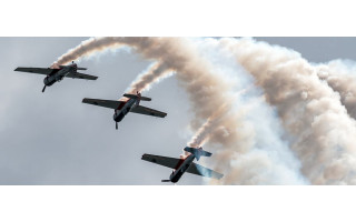 Lietuvos akrobatinių skrydžių grupė ANBO Palangoje surengs pasirodymą