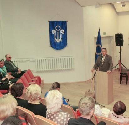 Palangos meras Šarūnas Vaitkus ketvirtą kartą atsiskaitė rinkėjams.