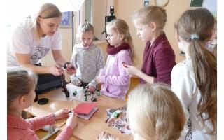 Šventosios pagrindinėje mokykloje– verslumo ir karjeros ugdymo diena