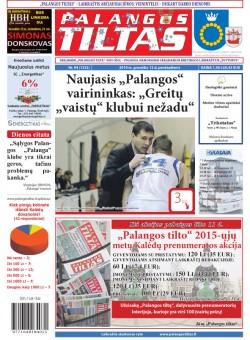Palangos tilto laikraštis, Data: 2014-12-11, Numeris: 94(1332)