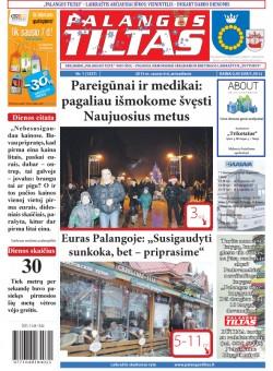 Palangos tilto laikraštis, Data: 2015-01-05, Numeris: 1(1337)