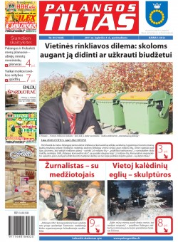 Palangos tilto laikraštis, Data: 2011-11-03, Numeris: 84 (1028)