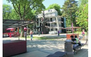 Teismas stabdo olandų atrakcionų veiklą J. Basanavičiaus promenadoje