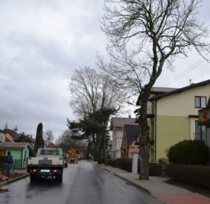 J. Piktuižio g. remontas: vienas šaligatvis medžiams, kitas – pėstiesiems