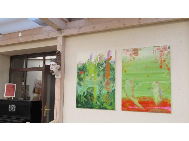 """""""Ramybės"""" galerijoje – trijų kūrėjų parodos"""